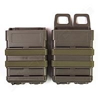 FMA Magazintasche Mag Pouch Fastmag Style 5,56 Set - Foliage Green