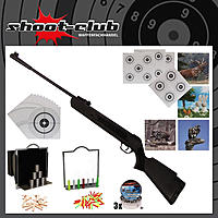 First Strike Bearhunter Luftgewehr 4,5 mm Diabolos -  Super Target Set