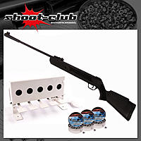 First Strike Bearhunter Luftgewehr 4,5 mm Diabolos im Biathlon-Set