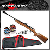 First Strike Falcon CO2 Gewehr 4,5 mm Diabolos im Futteral Set
