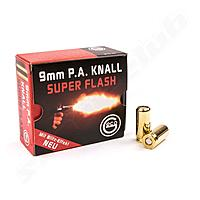 Geco Super Flash Platzpatronen 9mm P.A.K. - 25 Stk.