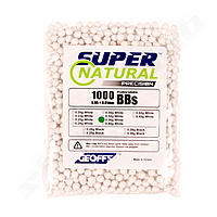 Geoffs 0,36g Bio BB Super Natural Precision - 1000 Schuss - Farbe White