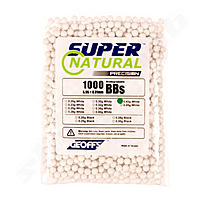 Geoffs 0,40g Bio BB Super Natural Precision - 1000 Schuss  - Farbe White