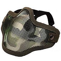 Softair Gittermaske klein Mundschutz - camo Muster