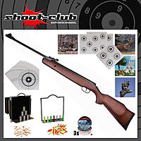 Hämmerli Black Force 550 Luftgewehr 4,5mm Diabolos - Super-Target Set