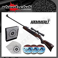 Hämmerli Hunter Force 600 Luftgewehr 4,5mm Diabolos im Bundle