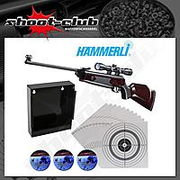 Hämmerli Hunter Force 750 Luftgewehr 4,5mm - Set
