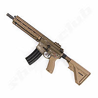 H&K 416 A5 GBB RAL 8000 New Generation Softairgewehr im Kaliber 6mm