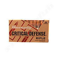 Hornady Critical Defense FTX - 155grs. im Kaliber .308Win