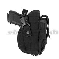 Invader Gear Hartschalen Pistolenholster, Belt Holster - Black