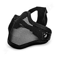 Invader Gear Steel Half Face Mask - Black
