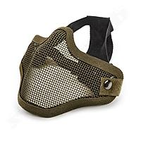 Invader Gear Steel Half Face Mask - OD Green