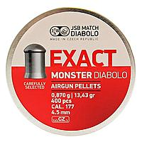 Jagddiabolos Exact Monster 4,52mm, 400 Stk 0,870g