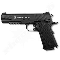 KWC Elite Force 1911 TAC Airsoft CO2 GBB Pistole ab18