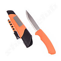 Mora Bushcraft - Survival Messer - orange inkl. Feuerstein