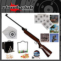 Norconia B2 Luftgewehr Kaliber 4,5 mm F-Version - Super Target Set
