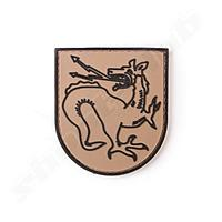Oberland Arms 3D Rubber Patch Tatzelwurm coyote CB