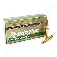 Remington Premier Match Büchsenpatronen .308 Win 168gr - 20 Stk.