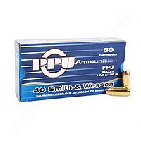PPU .40 Smith & Wesson FPJ 12,36g/190gr - 50 Schuss