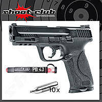 SMITH & WESSON M&P9 2.0 T4E CO2 RAM .43 im Set mit Pepperballs