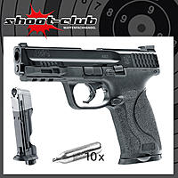 SMITH & WESSON M&P9 2.0 T4E CO2 RAM Markierer .43 im Emergency-Set