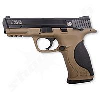 S&W M&P40 TS FDE Blowback CO2 Pistole 4,5mm Stahl BBs
