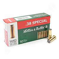 Sellier & Bellot .38 Special Wad Cutter 9,6g/ 148grs.