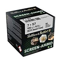 Sellier & Bellot Screen Ammo SCR Zink 100grs. Kaliber 7x57