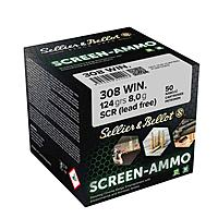 Sellier & Bellot Screen SCR Zink 124grs. Kaliber .308Win