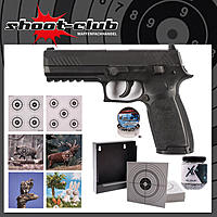 Sig Sauer CO2 Pistole P320 4,5mm BBs & Diabolo - CO2 Waffen Set