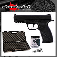 Smith & Wesson M&P 40 4,5 mm CO2 Pistole - Koffer-Set