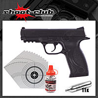 Smith&Wesson M&P 40 Kal. 4,5 mm CO2 Pistolen Set