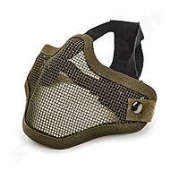 Softair Gittermaske klein Mundschutz - oliv gr�n OD