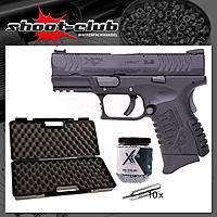 Springfield XDM compact CO2 Pistole Kal. 4,5mm Stahl BBs im Koffer-Set