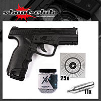 Steyr M9A1 CO2 Pistole 4,5mm Stahl BBs 3 Joule - Set