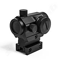 Theta Optics Red Dot Compact Trophy High Rise look BK