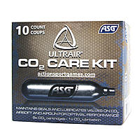 ULTRAIR CO2 Care Kit - 9x CO2 Kapsel 12g + 1x Wartungskapsel 12g