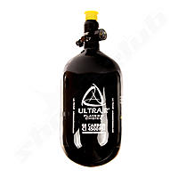 Ultrair HPA-Tank, 1.1 liter, 68 ci, 4500 psi carbon, inklusive Vorregulator