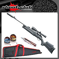 Umarex 850 M2 Target Kit CO2 Gewehr 4,5mm Diabolos - Futteral-Bundle