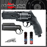 Umarex T4E HDR 50 CO2 Paintball Revolver .50 im Komplett-Set