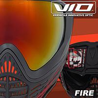 Virtue VIO Contoure II-Fire Thermal Maske Paintball/Airsoft