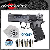 Walther CP88 CO2 Pistole 4,5mm Diabolos - im Set