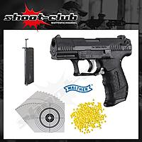 Walther P22 Softair Pistole 6mm - 0,5 Joule - Set