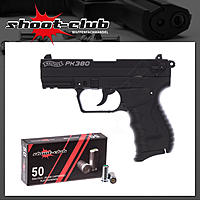 Walther PK 380 9mm inklusive shoot-club Platzpatronen