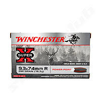 Winchester Super X PP 9,3 x 74 R 286 grs.