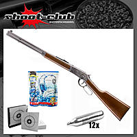 Wingun Legends Cowboy Rifle Airsoft CO2 Gewehr ab 18 im Set