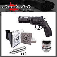 CO2 Revolver - UX Tornado / 4,5mm BB's / shoot-club Sparset