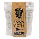 4000 Stk. 6mm Premium Bio BB`S /0,25g - Elite Force -