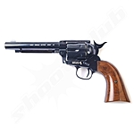 CO2-Revolver Colt SAA .45 5.5 Zoll Lauflänge Kal. 4,5mm - blue finish