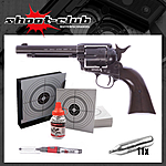 COLT SAA .45 Peacemaker Antique CO2-Revolver 4,5mm BB